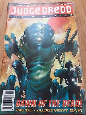 Judge Dredd The Megazine #4 1992