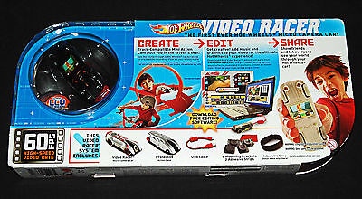 Hot Wheels Video Racer Micro Camera Car w/ LCD Action Cam New Sealed Free Ship