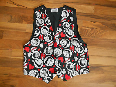 Vintage 1994 Betty Boop Apparel Clothing Vest Shirt Licensed Accessory One Size