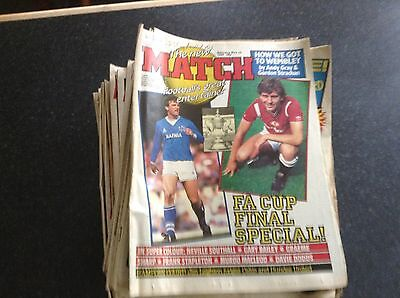 Match Weekly 1985 Individual Issues