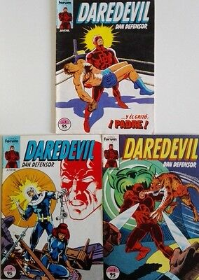 DARE DEVIL (Dan Defensor), Comics Forum, números 1 , 2 y 3