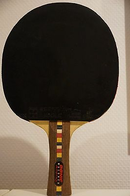raquette DONIC Waldner Allplay + 2 revetement JOOLA Energy X-tra tennis table