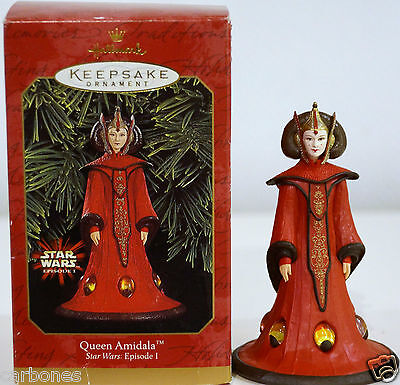 figurine QUEEN AMIDALA STAR WARS neuf episode 1 collection collector h=11cms