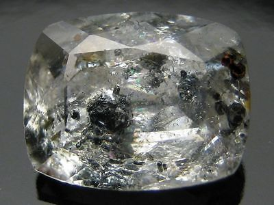 MCV-Topaz with inclusions of unknown rare minerals. Gemstone 3.33 ct