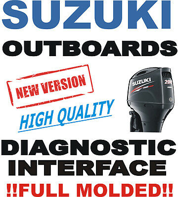 Professional SUZUKI Outboard Boat Diagnostic Kit Cable Interface USB SDS 8.0