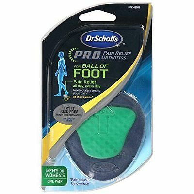 Dr. Scholl's P.R.O. Pain Relief Orthotics For Ball Of Foot, 1 PAIR Men's Women's