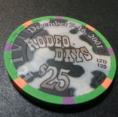 Riviera $25 Casino Chip- Cow Chip- Only 120 Made- Mint New Condition
