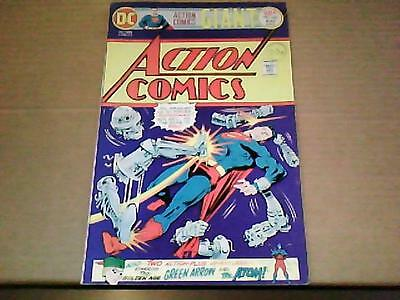 ACTION COMICS #449 FN (6.0)  68 page GIANT JULY 1975 cents copy