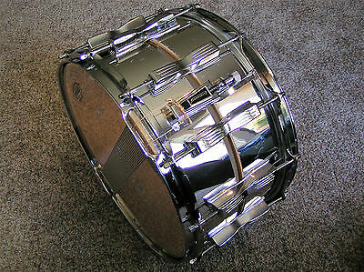 """Ludwig 14""""x8"""" Slotted Shell Coliseum Snare Drum"""