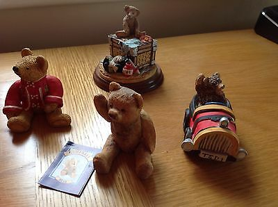 Peter Fagan Colourbox  Bears X 4    Theodores Pastimes,   Grand Prix Ted ,