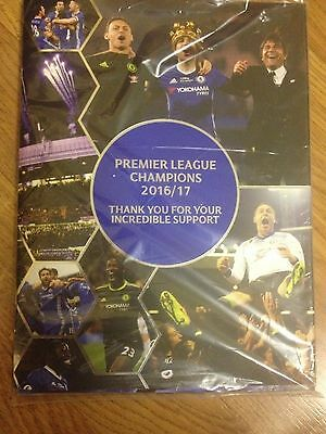 Special Edition Chelsea V Sunderland Official Unread Match Programme..21/05/17