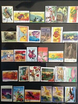 Christmas Island Fine Used Stamps (30 stamps) Inc HV