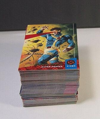 1994 Fleer Ultra Marvel X-Men Series Comic Complete 150 Card Set #1-150 Cards