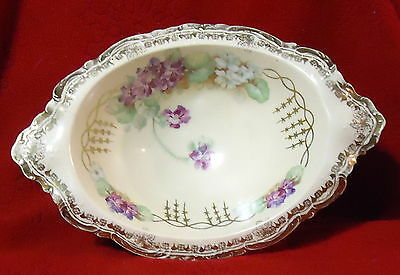 Royal Vienna Footed Oval Dish Key Occasional What-Not Dish
