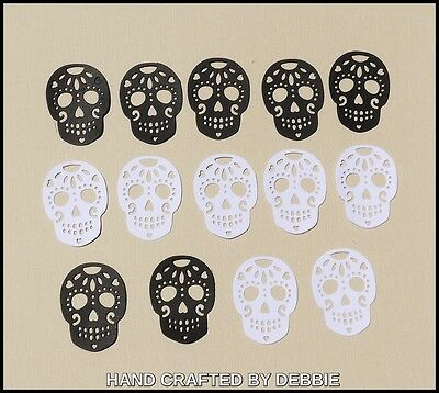 Skull Die Cuts X  20,boys,card Making,embellishments,album,toppers,cardstock