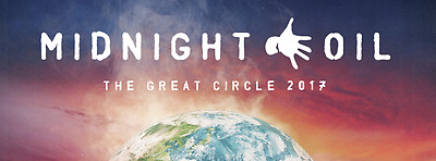 4 X Midnight Oil Tickets Melbourne On The Lawn GA 8/11/17