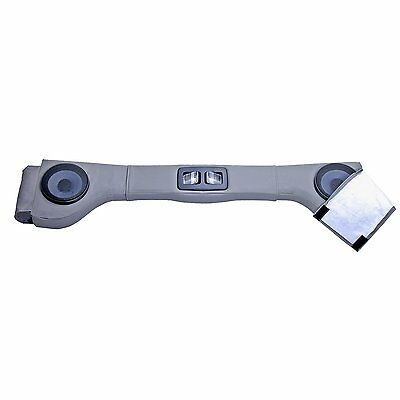 Rugged Ridge 13001.09 Upholstered Grey 2 Speaker Sound Bar Wrangler 87-06