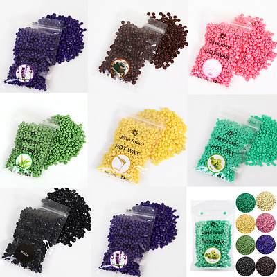 Hair Removal Bean 1 Bag Bikini Strip Depilatory Hot Film Hard Wax Pellet Waxing