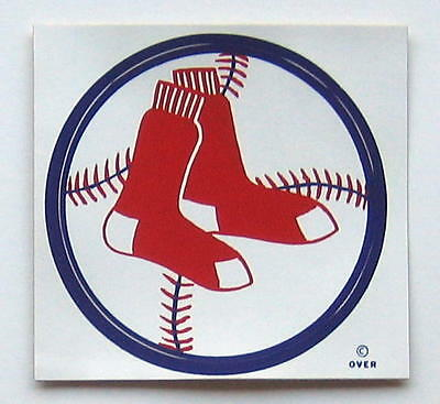 Vintage 1971 Boston Red Sox MLB Baseball Decal Sticker from Meyercord
