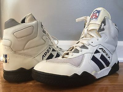 VTG Apex NFL Indianapolis Colts Football Turf Team Issue Shoes Sz 16 High Tops