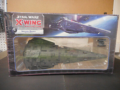 Star Wars X-Wing Miniatures Imperial Raider Expansion Pack *New* Factory Sealed