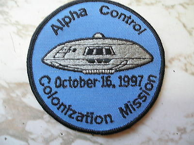 "1980's Vintage 3 1/2"" Lost in Space Alpha Control Embroidered Patch"