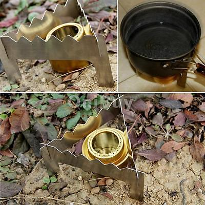Portable Outdoor Camping Folding Alcohol Stove Support Tripod Stand Bracket