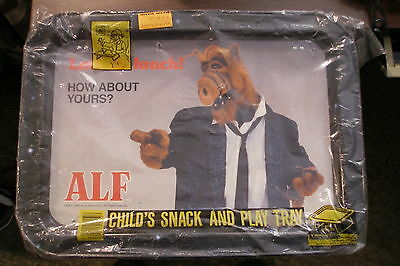 "1987 Vintage Original ALF Child's Snack and Play Tray 12"" x 17"""