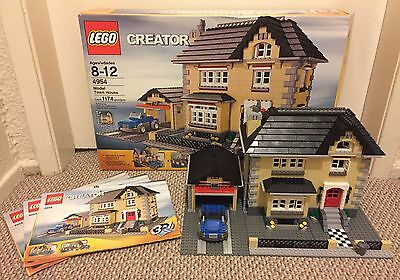 Lego Creator Model Town House 3 in 1 (4954) 100% Complete! Instructions & Box!