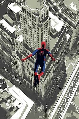 The Amazing Spider-Man 2 IMAX Poster Marvel Peter Parker Andrew Garfield A3+