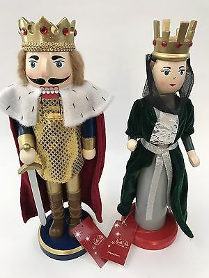 King And Queen New With Tags Nutcracker Set