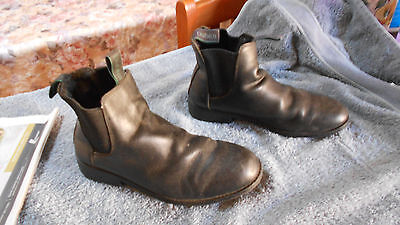 Horse Riding Boots Dublin Black Size 7 Us 6 Uk Gd Used Condition