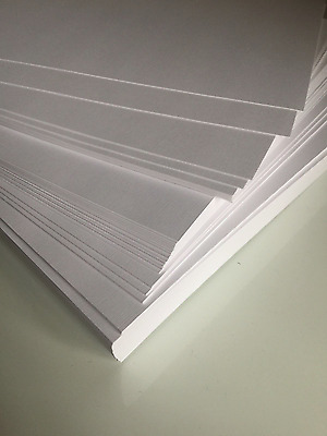 A4 White Premium Linen Cardstock 330GSM 2/sided (Pack of 10) - 21cm x 29.7cm