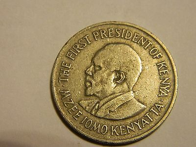 1975 Kenya 1 One Shilling ----Lot #1,912