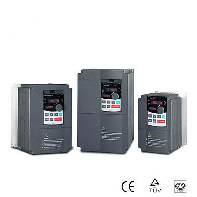1.5 KW 240V Single phase in 3 phase out VFD Variable Speed Drive VSD