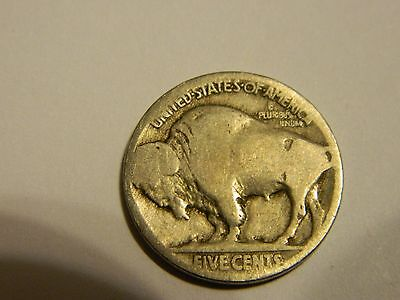 1916 P Buffalo Nickel Acid Recovered Date --INV166