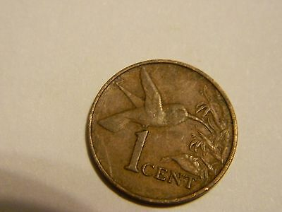 1975 Trinidad and Tobago 1 One Cent----Lot #1,894