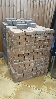 New Red And Grey Color Block Paving Bricks
