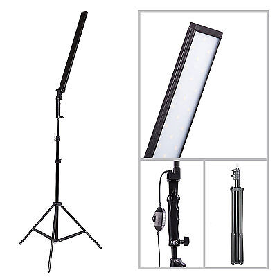 "Pro Photo Studio 32"" 60PCS 5500K Dimmable LED Adjustable Studio Light +2M Stand"