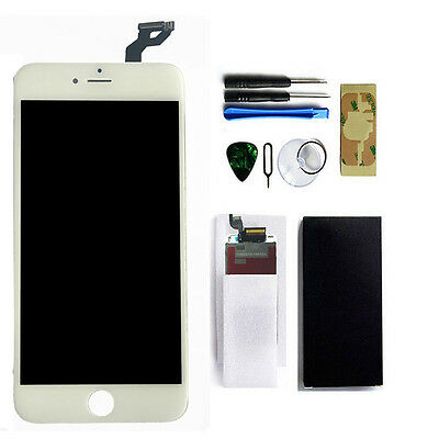 White LCD Display+Touch Screen Digitizer Assembly Replacement for iPhone 6S Plus
