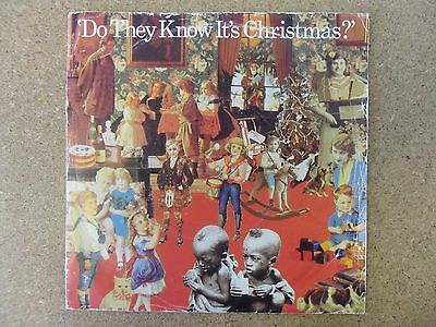 """Band Aid Do They Know Its Christmas  7"""" Vinyl"""