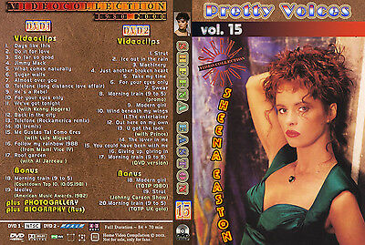 Sheena Easton - Pretty Voices 15 (2 DVDs) (Rare fans edition) Very good!!