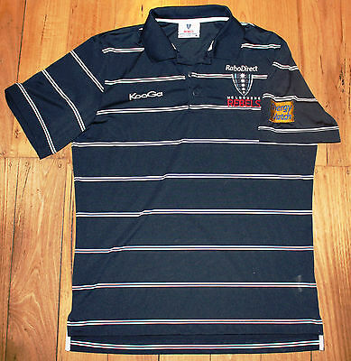 Mens Super Rugby Melbourne Rebels Players Polo Top Shirt Size M