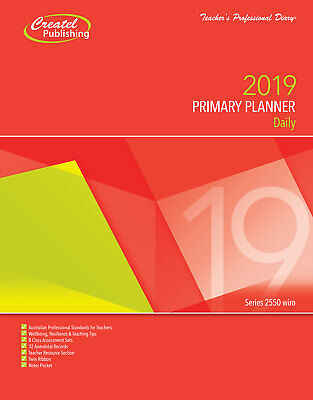 Teacher diary - Primary Daily Planner 2019