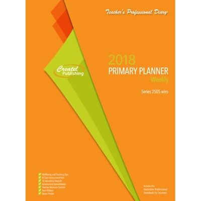 Teacher diary - Primary Weekly Planner 2017