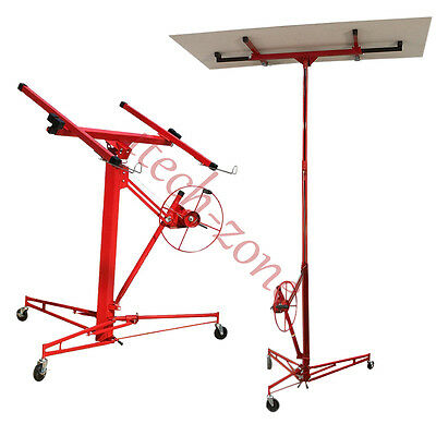 11Ft 68Kg Drywall Plaster Board Lift Panel Sheet Hoist Panel Lifter Jack Machine