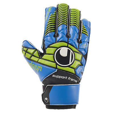 uhlsport Eliminator Soft SF Junior Torwarthandschuhe GK Gloves blau/power grün
