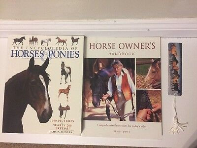 Lot Of 2 Books: Encyclopedia Of Horses, Horse Owner's Handbook