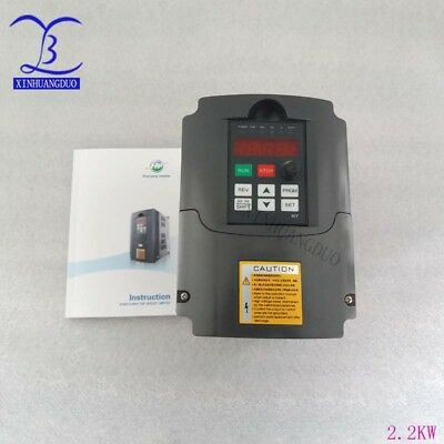 2.2KW 3HP VFD 10A 220V VARIABLE FREQUENCY DRIVE INVERTER VFD Speed Control VFD