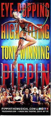 Pippin Musical Comedy Flyer Ad Broadway 2014 Nyc New York City